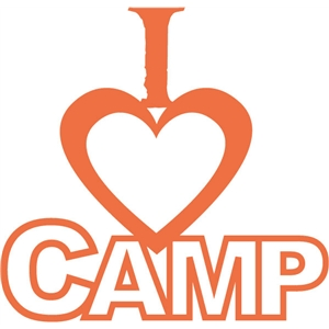 i heart camp phrase