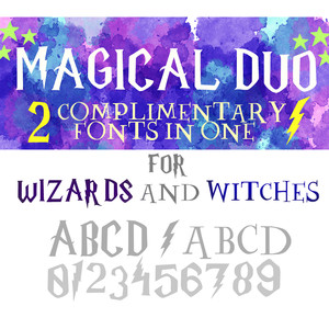 magical duo font