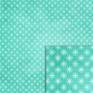 blue snowflakes background paper