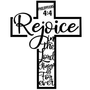 rejoice cross