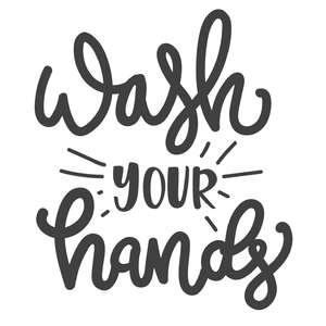 wash your hands phrase