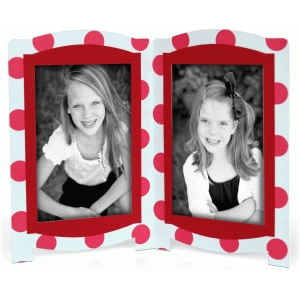 lori whitlock double 4x6 picture frame