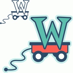 'w' is for wagon (samantha walker)