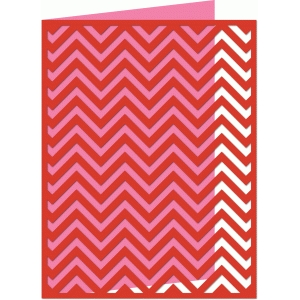 a2 chevron card