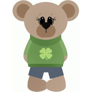 st patricks boy bear