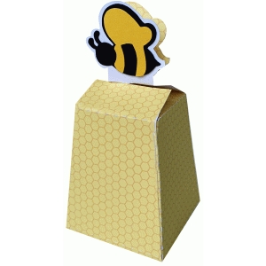 honey beehive favor box