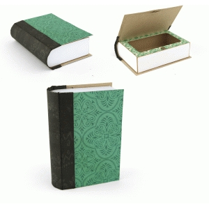 hidden compartment book box