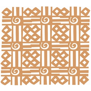 african square pattern