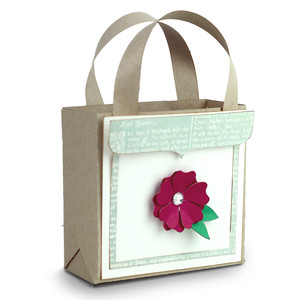 flower favor bag
