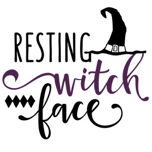 resting witch face phrase