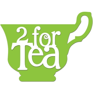 '2 for tea' word phrase