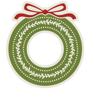 simply christmas wreath