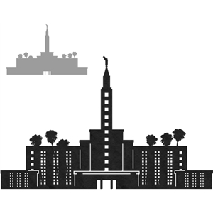lds temples - los angeles