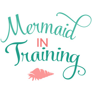 mermaid in training