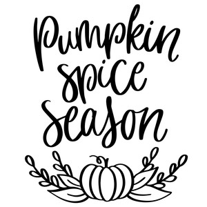 pumpkin spice season