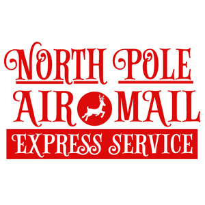 north pole air mail