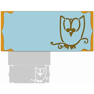 letter-size owl card