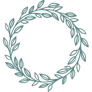 laurel leaf wreath