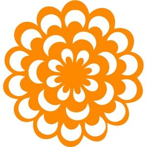 Silhouette Design Store - View Design #27922: floral filigree