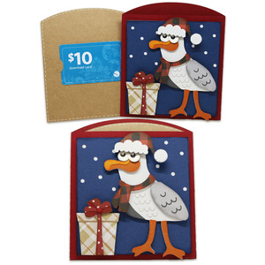 seagull gift card envelope