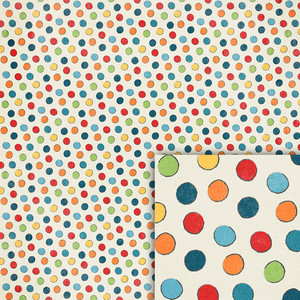birthday polka dot background paper