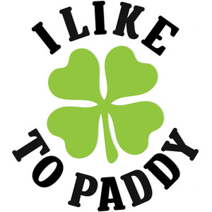 i like to paddy