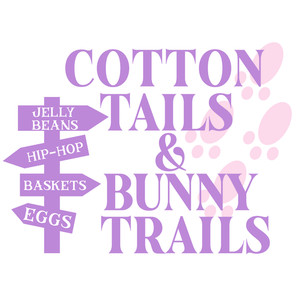 cotton tails & bunny trails