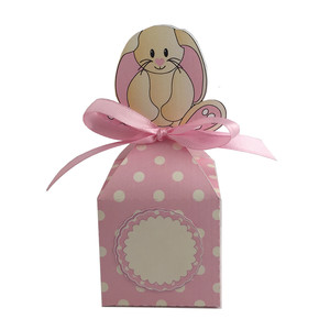 pink easter bunny anything box