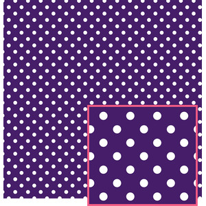 purple polka dot pattern