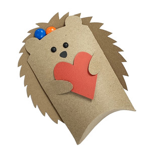 hedgehog pillow box