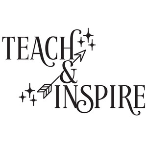teach & inspire arrow quote