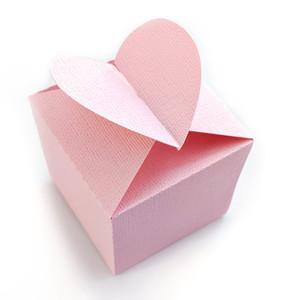 heart favor box