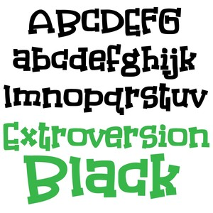 pn extroversion black