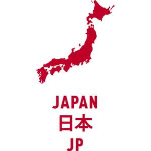 japan country outline