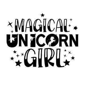magical unicorn girl