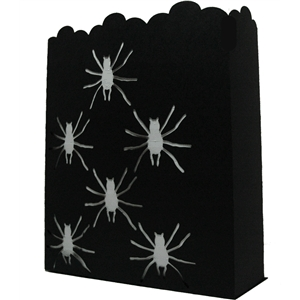 spider luminaria bag