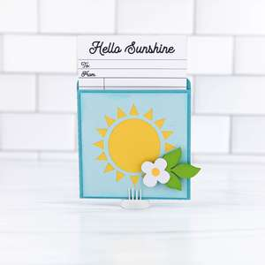 library pocket card sunshine