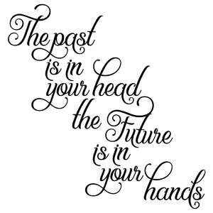 the past is in your head the future is in your hands