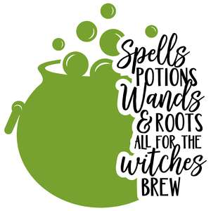 spells potions wands & roots