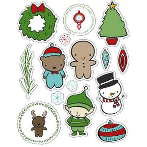 ml christmas characters stickers