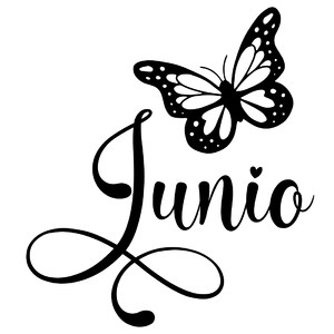 junio butterfly word