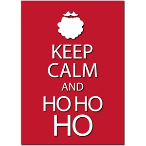 keep calm ho ho ho phrase