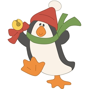 jingle bell penguin