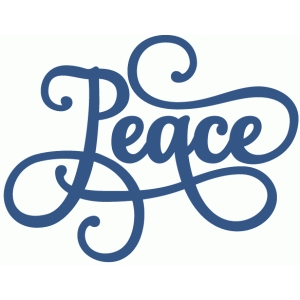 peace phrase - perfect flourish