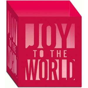 joy to the world luminary