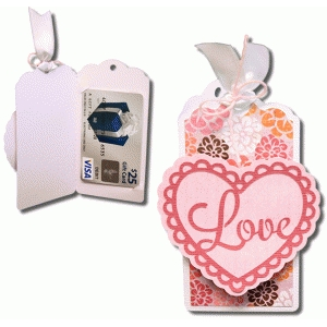 love gift card tag