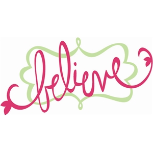 believe with nameplate