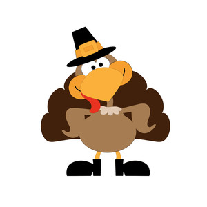 mcstuffing - turkey with hat