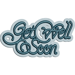 'get well soon' phrase