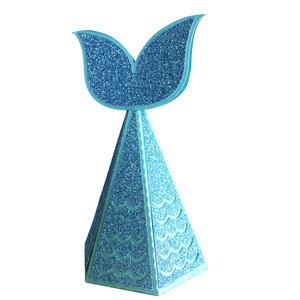 mermaid tail box